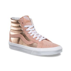 Rose Hold High Top Vans
